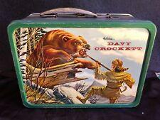 VINTAGE LUNCHBOX 1955 DAVY CROCKETT & KIT CARSON