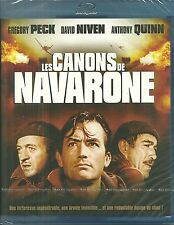 BLU RAY - LES CANONS DE NAVARONE avec GREGORY PECK, ANTHONY QUINN / NEUF EMBALLE