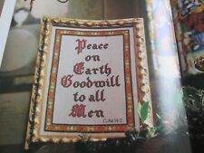 'The Christmas Message' Brenda Keyes cross stitch chart(only)