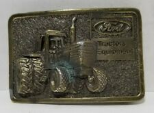 Vintage Ford Tractors Equipment Belt Buckle by The Great American Buckle Co