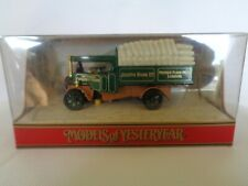 matchbox models of yesteryear  y-27 1922 foden steam wagon