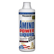 (29,30€/1Stk) Weider Amino Power Liquid 1 Liter Energy Fitness Drink Muskelaufba