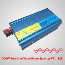 Adaptor 500W MAX 1200W Pure Sine Wave Power Inverters DC 12V TO AC 220V - 240V