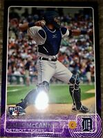 2015 TOPPS TOYS R US PURPLE SERIES 1 JAMES McCANN ROOKIE CARD #12 RC LOOK!!