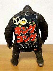 KING KONG Figure soft vinyl 1993 With tag Tsuburaya Bandai Kaiju Movie TOHO H8in