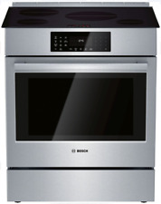 Bosch HII8056U 800 Series 30 Inch Slide-In Induction Range w/4 Cooking Elements