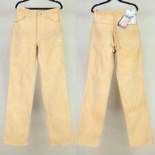 Vintage 70s Wrangler Corduroy Jeans 27x31 Made In USA NOS Original Tags 00/0