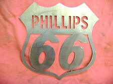 Phillips 66 Plasma Cut Sign 14ga Steel