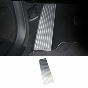 Fit For Volvo XC60 2018-2021 Steel Silver Front Put Feet Pad Pedal Cover Trim 1X