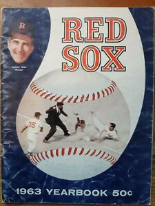 1963 BOSTON RED SOX YEARBOOK