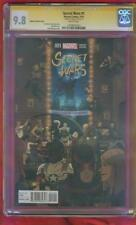 Secret Wars 1 CGC SS 9.8 Stan Lee Zdarsky Sex Criminals Variant Avengers Movie