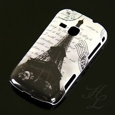 Samsung Galaxy Mini 2 S6500 Hard Case Handy Hülle Etui Paris Eiffelturm SW