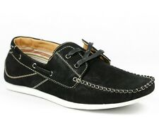 Polar Fox Men's Lace Up Deck Moccasins Casual Lace Up Oxford Shoes