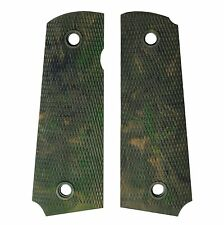 US Army M1911A1 Colt Grips - CAMOUFLAGE WW2 Repro Nylon American .45 Cal Handle