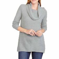 New Faded Glory Women's Sweater Grey Large 12-14
