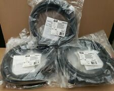 Lot of 7 Hubbell Mini-Quick Cables Female Right-Angle 12-Foot 16AWG 4W 12A 600V