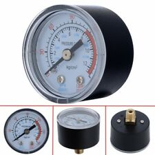 0-180PSI 0-12Bar Air Compressor Pneumatic Hydraulic Fluid Pressure Gauge New