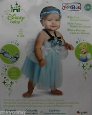 Halloween Disney Blue My First Cinderella Dress Costume Size 6-12 months NWT