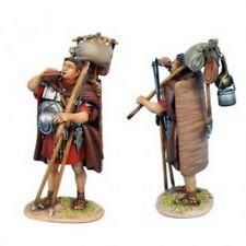First Legion ROM175a Imperial Roman Legionary Drinking - Covered Shield - Red Tu