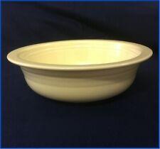 "Original Fiestaware:  Ivory 8 1/2"" Nappy Bowl"