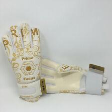 Prime Focus Pivot Size 8 Gold Soccer Goalie / Goal Keepers Keeping Gloves $59
