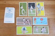 SET OF 50 CARDS BARRATT BASSETT PLAY CRICKET 1980 MINT