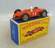 Lesney Matchbox Toys MB73b Ferrari Racing Car