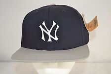 New York Yankees Blue/Grey Baseball Cap Snapback  NWT