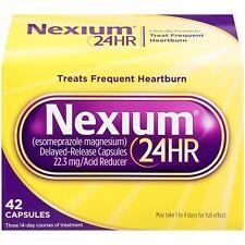 nexium 24hr ACIDO riduttore, delayed-release, 42 CONTE
