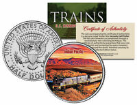 INDIAN PACIFIC TRAIN * Famous Trains * JFK Half Dollar Colorized U.S. Coin