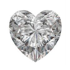 10 X 10 MM 3.30 Carat Near White Heart Diamond Cut Loose Moissanite For Ring