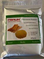 FORUN Premium Cinnamon Powder-Pure, Fine Powder (NW 100G/200G/400G/800G/2KG/4KG)