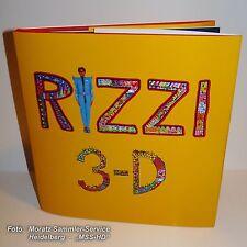 """James Rizzi: Erstes BUCH 1988, """"3-D Constructions"""", englisch, gebunden, NEU !"""