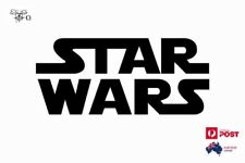 Star Wars Logo Vinyl Car Fuel Tank Sticker Decal Black