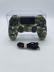 Genuine Sony PS4 Playstation 4 DualShock 4 Wireless Controller Green Camo OEM