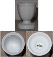 Eierbecher Rosenthal Porzellan weiß