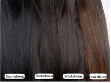 L.O.S NEU 60cm 2 3 5 Clips In Tressen Extensions Haarverlängerung Haarteil Glatt