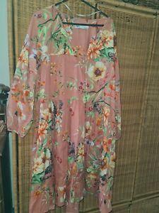 Zara Boho Tiered Dress Size M