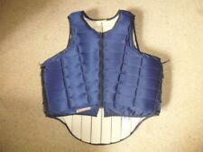Racesafe 2010 Body Back Protector navy blue adult size L standard back UK 14-16