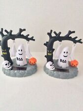 Solar Power Dancing Toy Set Of 2 Halloween Figures For Home Car Decor Or Gift