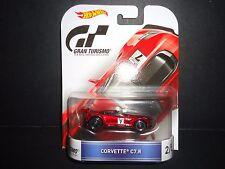 Hot Wheels Chevrolet Corvette C7R Red Gran Turismo 1/64 DMC55-959C