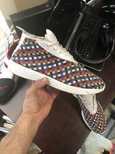 2010 Nike Lunar Chukka Woven Rainbow Sz 10