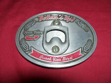Bottle Opener Belt Buckle Bud Budweiser Heineken Michelob Miller Light Beer Bar