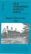 Vieux Ordnance Survey Map Upper Edmonton 1894