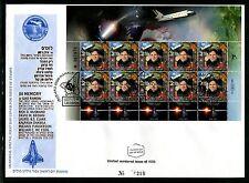 Israel 2004 Space Astronaut Ilan Ramon Shuttle Columbia FDC Rare x20023