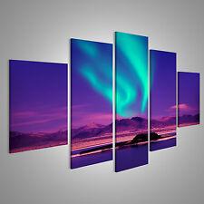 Bild auf Leinwand Nordlichter aurora borealis CRE-MFP