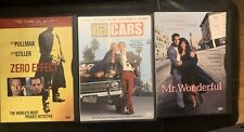 DVD Blu-ray Lot Zero Effect, Used Cars & Mr. Wonderful
