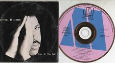 LIONEL RICHIE CD single PROMO 2 tracce DO IT TO ME + Ballerina girl 1992 CARDSL