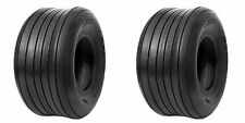 2 (TWO) 15X6.00-6 15X600-6 15X6.00X6 15X600X6 4 Ply Rated RIB TIRES