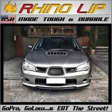 SUBARU BRZ WRX SVX RX XT DL Coupe STi Front Bumper Lip Rubber Chin Splitter Trim